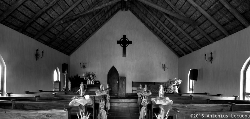 Church fine art black and white photography